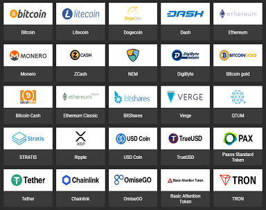 1xbit currencies